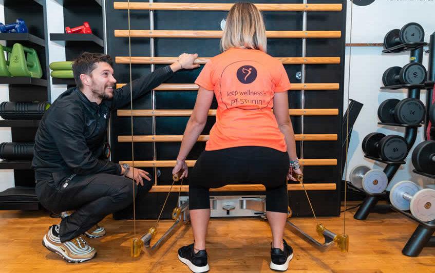 perdita di peso del personal trainer